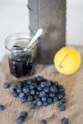 blueberry and lemon