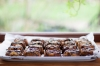 mini pear and chocolate cakes