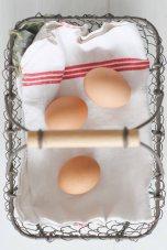 organic local eggs