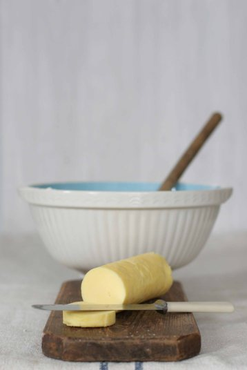 Riverford butter fresh from the dairy