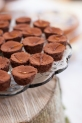 gluten, dairy and sugar free mini chocolate cakes