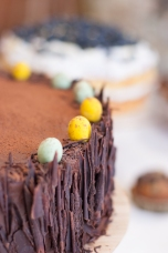 Easter chocolate cake