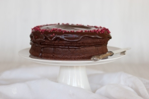 chocolate fudge cake (nut and glutenfree)