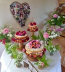 Wedding Cake, 'The Oak Barn', Exeter