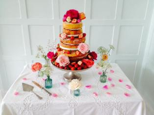 Wedding Cake, 'Cliff House', Salcombe (June 2015)