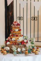 Wedding Cake, 'Muddiford's Court', Tiverton. photography by James Fear