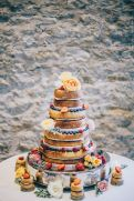 Wedding Cake, 'Priston Mill', Bath (Aug 2015)
