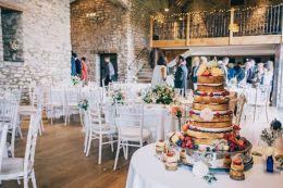 Wedding Cake, 'Priston Mill', Bath (Aug 2015)