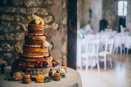 Wedding Cake, 'Priston Mill', Bath. August 2015
