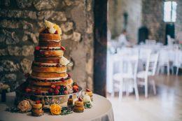 Wedding Cake, 'Priston Mill', Bath. August 2015