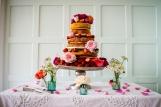 Wedding Cake - 'Cliff House' Salcombe, June 2015