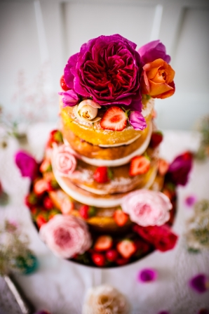 Wedding Cake - 'Cliff House' Salcombe, June 2015