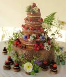 Wedding Cake, 'Cornish Tipi Weddings'.  May 2016