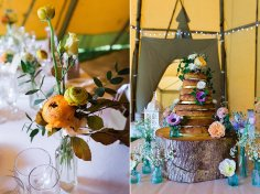 Wedding Cake, 'Burnicombe Farm', Bridford. May 2016. Photos by Sarah Lauren.